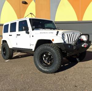 "HCP 4x4 Vehicles - 2017 JEEP JKUR AEV 2.5"" SUSPENSION WITH 35"" NITTO RIDGE GRAPPLERS JCR BUMPERS AND RIGID LIGHTING"