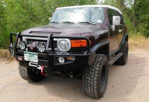 HCP 4x4 Vehicles - 2007 TOYOTA FJ CRUISER ARB DELUXE FRONT BUMPER