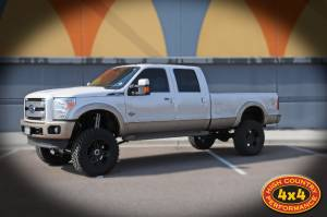 "HCP 4x4 Vehicles - 2012 FORD F350 SUPER DUTY 8"" SUPERLIFT 4 LINK SUSPENSION LIFT 37"" Toyo M/T TIRES (BUILD #49915/78665)"
