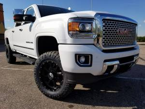 "HCP 4x4 Vehicles - 2016 GMC Sierra HD2500 Fabtech 4"" Suspension Lift w/DIrt Logic Shocks and Fabtech UCA's (BUILD#80383)"