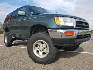 """HCP 4x4 Vehicles - 1997 TOYOTA 4RUNNER TOYTEC BOSS 3"""" COILOVER W/RESERVOIRS SUSPENSION LIFT KIT"""