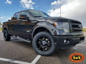HCP 4x4 Vehicles - 2014 FORD F150 FUEL COUPLER 20X9 WHEELS AND TOYO ATII 285/55R20 TIRES (BUILD#83239)