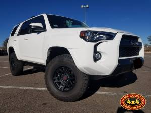 HCP 4x4 Vehicles - 2016 TOYOTA 4RUNNER SPC PERFORMANCE UPPER CONTROL ARMS N-FAB ROCK RAILS (BUILD#84633)