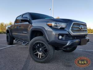 "2017 TOYOTA TACOMA TOYTEC BOSS 3"" COILOVER SUSPENSION LIFT WITH SPC UCA'S (BUILD#83664) - Image 1"