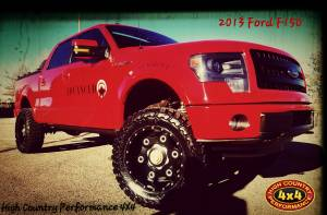 "HCP 4x4 Vehicles - 2013 FORD F150 BDS 6"" FOX COILOVER SUSPENSION LIFT (BUILD#84141)"