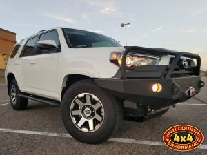 HCP 4x4 Vehicles - 2017 TOYOTA 4RUNNER SHROCK WORKS SKID PLATES FRONT BUMPER ROCK SLIDERS (BUILD#83713)