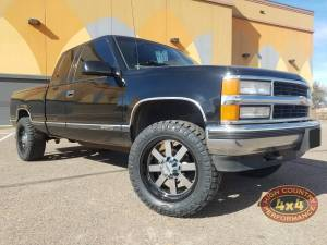 HCP 4x4 Vehicles - 1997 CHEVY 1500 ZONE LEVELING KIT WHEELS AND TIRES (BUILD#85020)