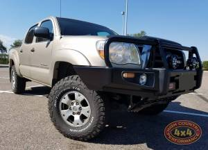 HCP 4x4 Vehicles - 2007 TOYOTA TACOMA BILSTEIN 5100 RHA LEVELING STRUTS AND ARB DELUXE BUMPER (BUILD#82395)