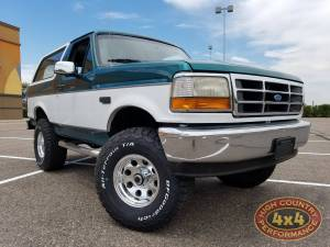"HCP 4x4 Vehicles - 1996 FORD BRONCO BDS 4"" SUSPENSION LIFT ARB AIR LOCKERS (BUILD#80546/81549)"