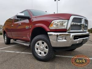 HCP 4x4 Vehicles - 2014 DODGE RAM 3500 BILSTEIN FRONT LEVELING SPRING KIT CARLI TRAC BAR (BUILD#82528)