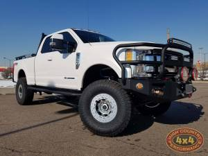 """HCP 4x4 Vehicles - 2018 FORD F350 CARLI PINTOP 4.5"""" SUSPENSION WITH TRAILREADY BEADLOCKS ON NITTO EXO GRAPPLERS (BUILD#83486)"""