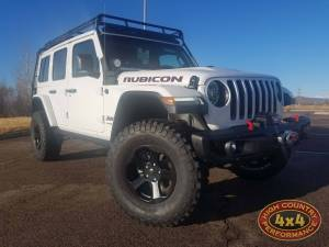 "HCP 4x4 Vehicles - 2018 JEEP WRANGLER JLR MOPAR 2"" SUSPENSION WITH MOPAR LEDS AND SPARE TIRE CARRIER (BUILD#85389) - Image 1"