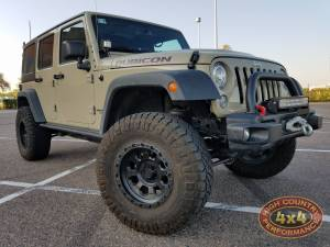 """HCP 4x4 Vehicles - 2017 JEEP JKUR AEV 3.5"""" SUSPENSION WITH AEV TIRE CARRIER AND 35"""" NITTO TRAILGRAPPLERS (BUILD#82562/80320)"""