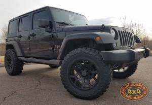 "HCP 4x4 Vehicles - 2018 JEEP JKU AEV 2.5"" SUSPENSION ON 35"" TOYO M/T TIRES (BUILD#84736)"