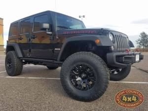 "HCP 4x4 Vehicles - 2017 JEEP JKUR AEV 3.5"" SUSPENSION ON 35"" TOYO ATII TIRES (BUILD#84178)"
