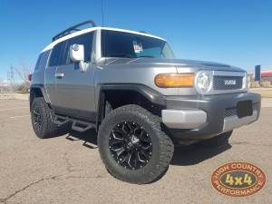 "HCP 4x4 Vehicles - 2012 TOYOTA FJ CRUISER TOYTEC 3"" BOSS SUSPENSION ON 33"" TOYO A/TII TIRES (BUILD#85566)"