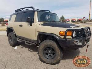 "HCP 4x4 Vehicles - 2014 TOYOTA FJ CRUISER TOYTEC 3"" ULTIMATE LIFT ON FUEL WHEELS AND EBC BRAKES (BUILD#79709/85537)"