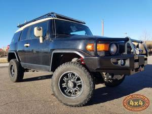 "HCP 4x4 Vehicles - 2007 TOYOT FJ CRUISER TOYTEC 3"" BOSS SUSPENSION WITH ARB DELUXE BUMPER(BUILD#85355)"