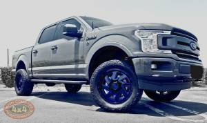 "HCP 4x4 Vehicles - 2018 FORD F150 HALO 3"" COILOVERS CUSTOM PAINTED MOTO METAL 20"" WHEELS (BUILD#85532) - Image 1"