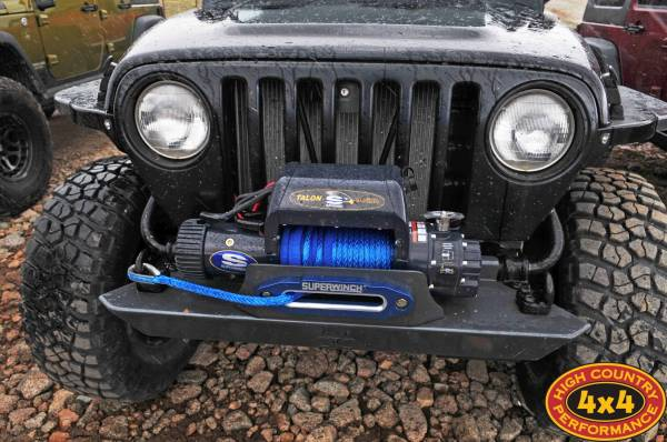 97 TJ w/ Nemesis Industries armor and Superwinch