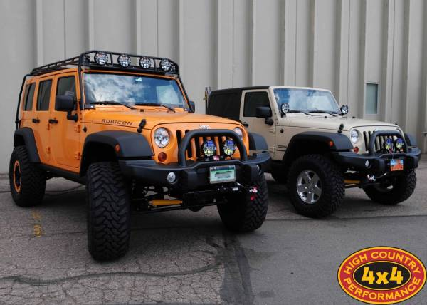 Two JK's with AEV upgrades