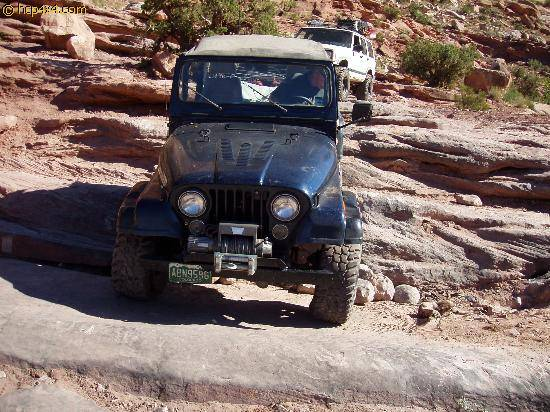 CJ7 with Chevy 350