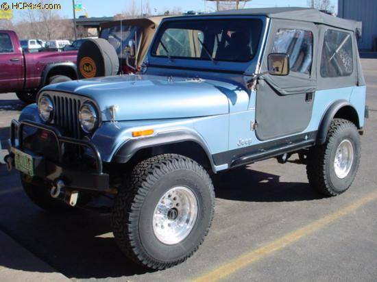 "CJ7 w/ 2.5"" BDS lift"