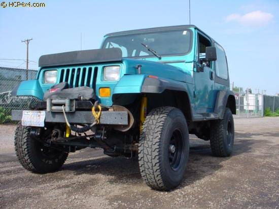 """1989 YJ 2.5"""" OME lift"""