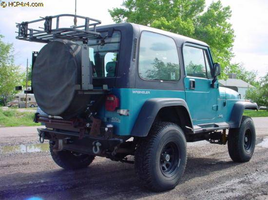 """1989 YJ w/ 2.5"""" OME lift"""