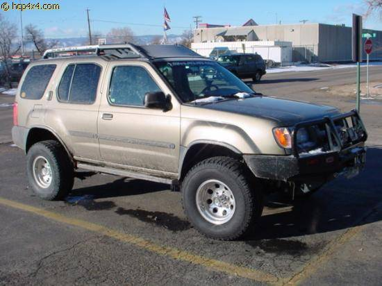 "2001 Xterra w/ 3"" Calmini lift"