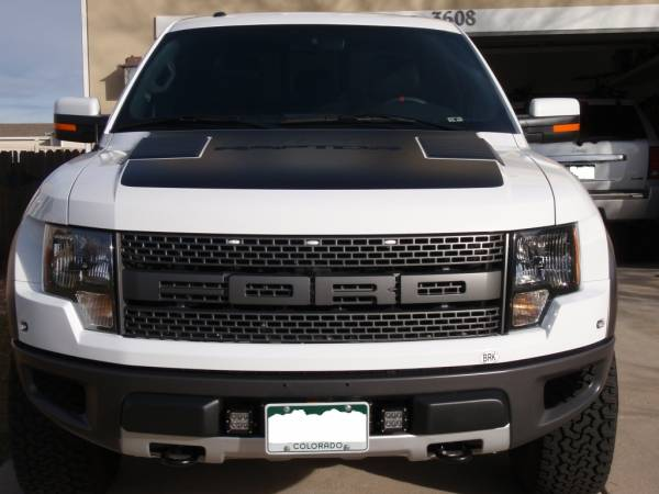 2012 Raptor SDHQ Hidden Winch Mount