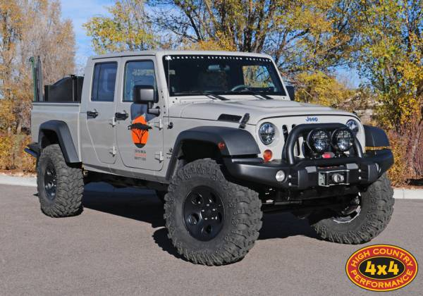 AEV Double Cab Brute Conversion JK