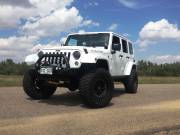 "2014 AEV 3.5"" Suspension, ARB Bumpers, Teraflex Tire Carrier Cover"