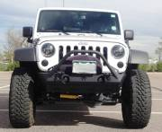 "2014 AEV 3.5"" SC Suspension, 35"" Toyo MT's, Poison Spyder Bumpers Cover"