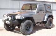 "2000 TJ OME 2"" Suspension 1"" Body Lift 35"" Cooper STT Tires Cover"