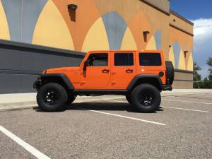 "2013 JKUR Moab Edition AEV 4.5 37"" BF Goodrich AT KO2 Tires"