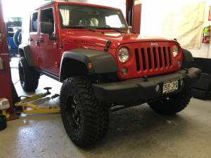 2016 JKUR AEV 4.5 35 Nitto Trail Grapplers