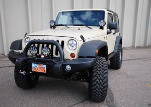 "HCP 4x4 Vehicles - 2012 JEEP JK AEV 3.5"" DUAL SPORT SUSPENSION ON 35"" TOYO M/T TIRES WITH AEV BUMPERS AND TERAFLEX ROCK SLIDERS (BUILD#45645) - Image 3"
