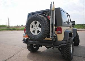 "2012 AEV 3.5"" SUSPENSION, BUMPERS, & TERAFLEX ROCK SLIDERS"