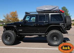 "HCP 4x4 Vehicles - 2012 JEEP JKU RUBICON TERAFLEX 6"" PRE-RUNNER SUSPENSION ON 40"" TOYO M/T TIRES AND HUTCHINSON BEADLOCKS GENRIGHT ARMOUR (BUILD#46209) - Image 2"