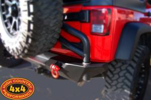 """2011 JEEP JKU TERAFLEX 3"""" SUSPENSION ON 35"""" TOYO M/T TIRES AND XD ADDICT WHEELS WITH POISON SPYDER REAR BUMPER & AEV TIRE CARRIER (BUILD#48389)"""