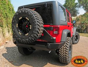 """2012 JEEP JKUR AEV 3.5"""" DUAL SPORT SUSPENSION ON 37"""" NITTO TRAIL GRAPPLER TIRES AND MOTO METAL WHEELS WITH EXPEDITION ONE BUMPERS (BUILD#45744)"""