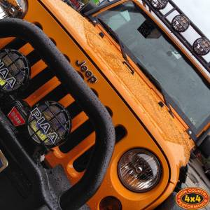 "Jeep - Jeep JK 2007-Current - HCP 4x4 Vehicles - 2012 JKU RUBICON AEV 3.5"" SUSPENSION, AEV BUMPERS, AND GOBI ROOF RACK"
