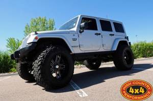 "2012 JEEP JKU CALL OF DUTY *MW3 EDITION* TERAFLEX 6"" LONG ARM SUSPENSION ON 40"" TOYO M/T TIRES AND RMP STRIKER WHEELS (BUILD#42559)"