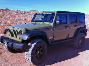 "HCP 4x4 Vehicles - 2013 JEEP JKUR AEV 2.5"" XT SUSPENSION O 35"" GOOYEAR DURATRACS AND AEV PINTLER WHEELS WITH J.W. SPEAKER HEADLIGHTS (BUILD#48789) - Image 1"
