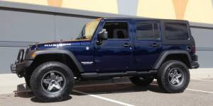 "2013 JKUR AEV 2.5"" DUAL SPORT SUSPENSION ON 34"" TOYO A/TII TIRES WITH AEV BUMPERS"