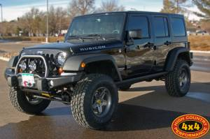 "2013 JEEP JKUR AEV 3.5"" DUAL SPORT SUSPENSION ON 35"" TOYO A/TII TIRES AND AEV PINTLER WHEELS WITH AEV BUMPERS (BUILD#48989)"