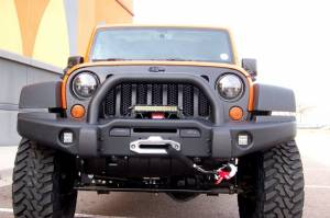"HCP 4x4 Vehicles - 2013 JEEP JKUR AEV 3.5"" DUAL SPORT SUSPENSION ON 35"" TOYO M/T TIRES AND AEV PINTLER WHEELS WITH AEV BUMPERS - Image 2"