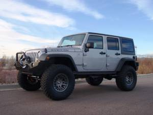 "HCP 4x4 Vehicles - 2013 JEEP JKUR AEV 4.5"" DUAL SPORT SUSPENSION ON 37"" TOYO M/T TIRES AND HUTCHINSON BEADLOCKS WITH EXPEDITION ONE BUMPERS (BUILD#48326) - Image 4"