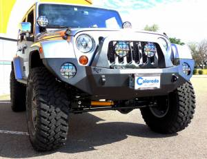 "HCP 4x4 Vehicles - 2013 JEEP JKUR AEV 4.5"" DUAL SPORT SUSPENSION ON 37"" NITTO TRAIL GRAPPLER TIRES WITH ROCK-SLIDE ENGINEERING BUMPERS - Image 2"